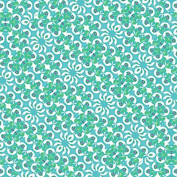 Colorful Abstract Print Pattern by DFLCreative