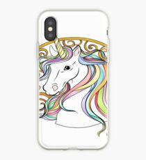 Royal Unicorn  iPhone Case