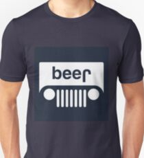 speed bump ahead,dont spill your beer! Unisex T-Shirt