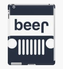 speed bump ahead,dont spill your beer! iPad Case/Skin