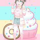 Donut Harajuku Girl - 2019 by devicatoutlet