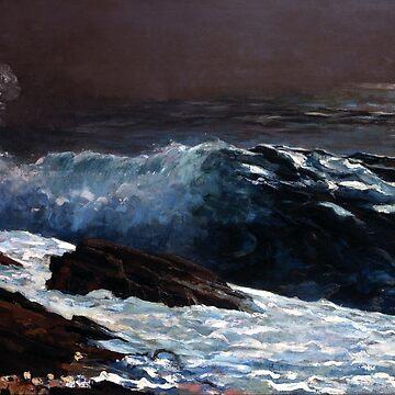Sunlight on the Coast, Winslow Homer by fourretout