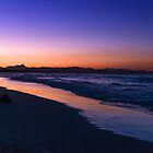 Belongil Beach just after sunset, Byron Bay, New South Wales, Australia by andremichel