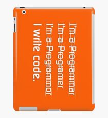 Teevolution :: I write code iPad Case/Skin