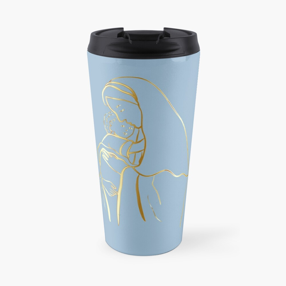 Mater Dei by TRADCATFEM Travel Mug