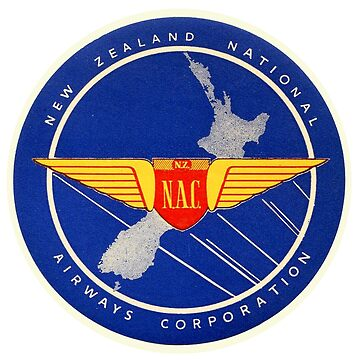New Zealand National Airways Corporation by Bloxworth