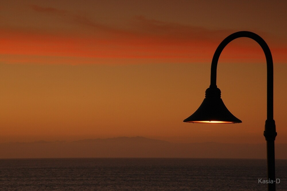 Sunset Lamp by Kasia-D