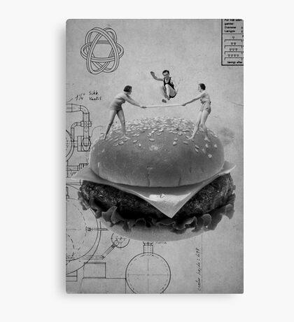 Black & White Collection -- American Dream Canvas Print