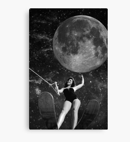 Black & White Collection -- Out There Canvas Print