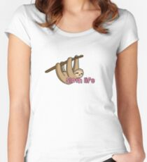 Sloth Life Women's Fitted Scoop T-Shirt