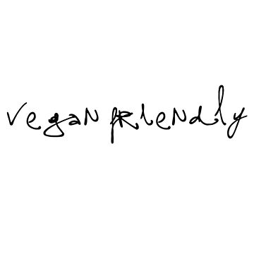 vegan friendly by sarahbentvelzen