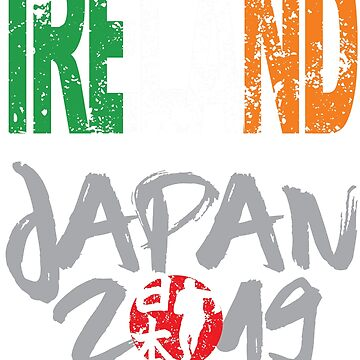 Rugby Cup 2019 World Team Ireland Supporter Contact Sports Fans by Nslock5000