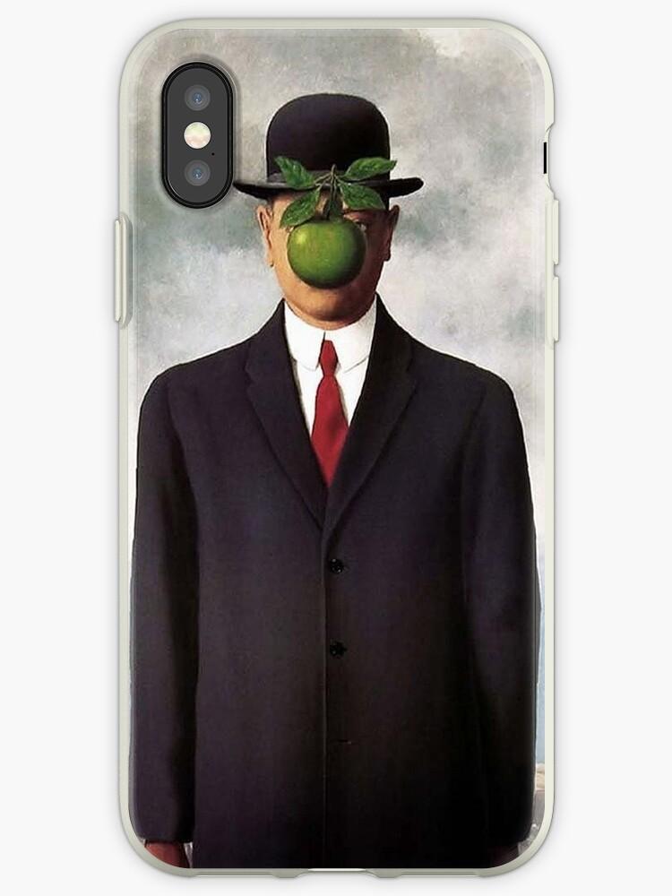 Magritte Apple Iphone Hülle | Haut | Abdeckung von Alberto Cogo
