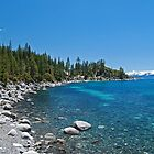Rocky Shore - Lake Tahoe by rrushton