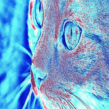 Tabbycat Blue by miniverdesigns