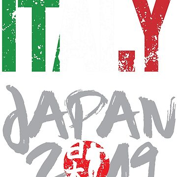 Rugby Cup 2019 World Team Italy Supporter Contact Sports Fans by Nslock5000