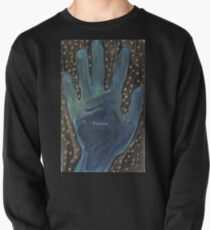 I Believe, a starry hand Pullover