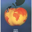 """People be vigilant!"" Soviet anti-nuclear war poster, 1970s by dru1138"
