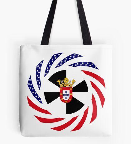 Ceutan American Multinational Patriot Flag Series Tote Bag