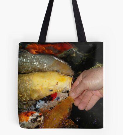 Feeding Time Tote Bag