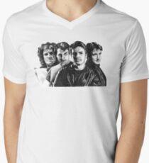 The Many Faces of Nathan Fillion Men's V-Neck T-Shirt
