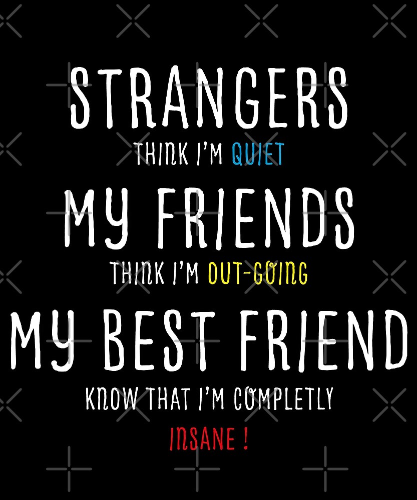 Funny friend quote\
