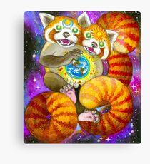Space Pandas Canvas Print