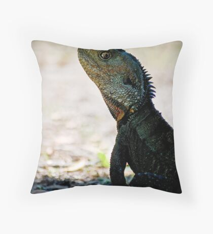 'Cocky John' Throw Pillow