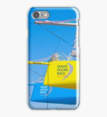 boat yard. volvo ocean race. lisbon. 2015.portugal iPhone Case/Skin