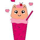 Kawaii Kitten Milchshake von Stefanie Keller