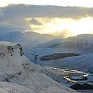 Winter Afternoon, Strath More, Sutherland by ScotLandscapes