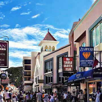 Philipsburg Sint Maarten - Shopping on Front Street by SudaP0408