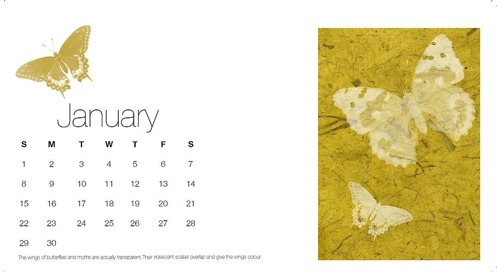 Calendar by Emma Gene Shanks