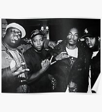 biggie smalls puffy daddy snoop dogg and nate dogg Poster