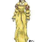 Ann Boleyn Color by SonneFaunArt