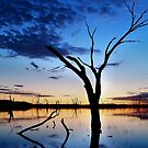 Lake Fyans, Blue Lagoon by Joe Mortelliti