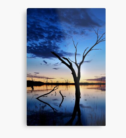Lake Fyans, Blue Lagoon Metal Print