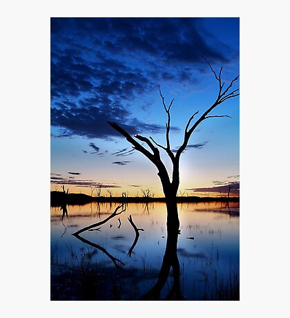 Lake Fyans, Blue Lagoon Photographic Print