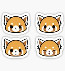 Retsuko Faces - Normal Pack Sticker