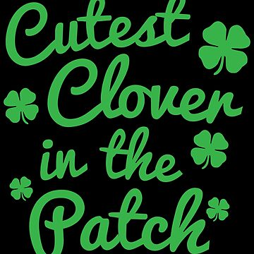 Cute St Patricks Day Apparel by CustUmmMerch