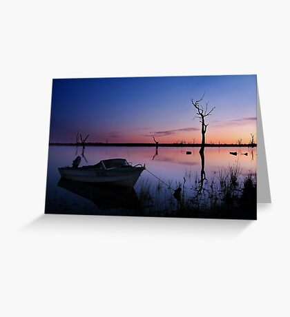 DO 952 Lake Fyans, Grampians Greeting Card
