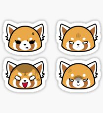 Retsuko Faces - Angry Pack Sticker