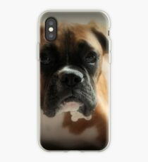 Gesicht der Unschuld ~ Boxer-Hundeserie iPhone-Hülle & Cover