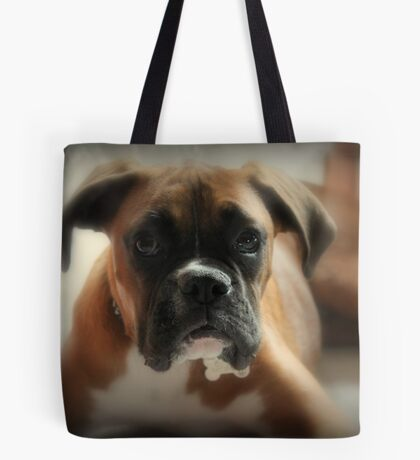 Gesicht der Unschuld ~ Boxer-Hundeserie Tote Bag