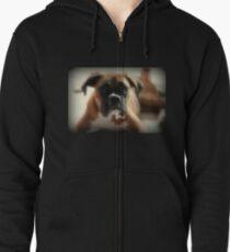 Gesicht der Unschuld ~ Boxer-Hundeserie Kapuzenjacke