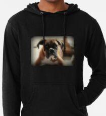 Gesicht der Unschuld ~ Boxer-Hundeserie Leichter Hoodie
