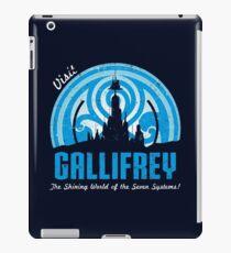 Visit Gallifrey iPad Case/Skin