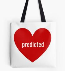 predicted Tote Bag