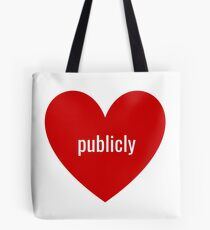 publicly Tote Bag