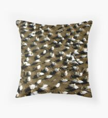 Gannets Throw Pillow
